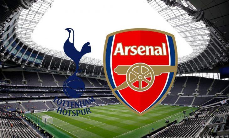 Formacionet e derbit londinez, Tottenham vs Arsenal