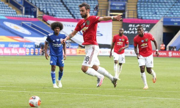 Leicester dhe Man. United ndajnë pikët