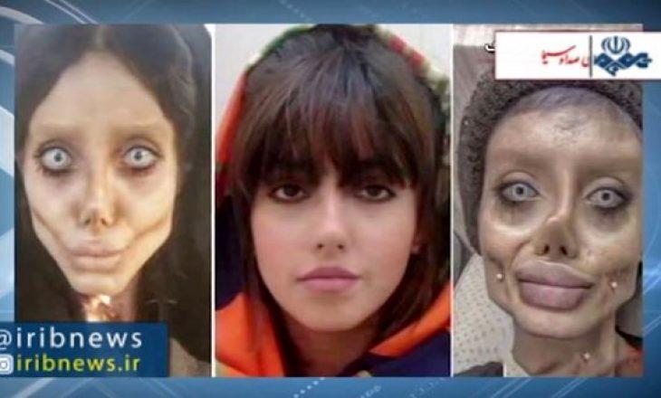"""E ashtuquajtura """"Zombi Angelina Jolie"""" e Iranit lirohet nga burgu vetëm disa ditë pasi mori një dënim prej 10 vitesh"""