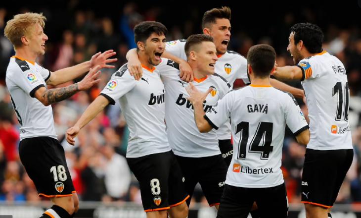Një lojtar i Valencias infektohet me COVID-19 para ndeshjes kundër Barcelonës