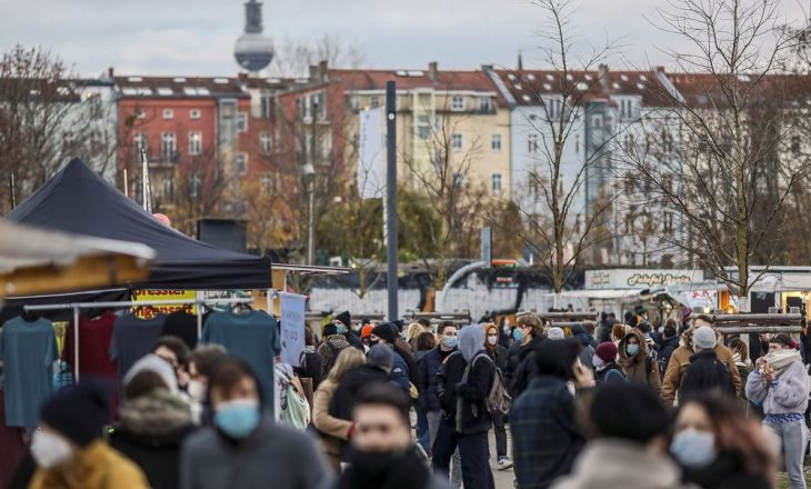Gjermania raporton 1.129 viktima nga COVID-19 në 24 orët e fundit
