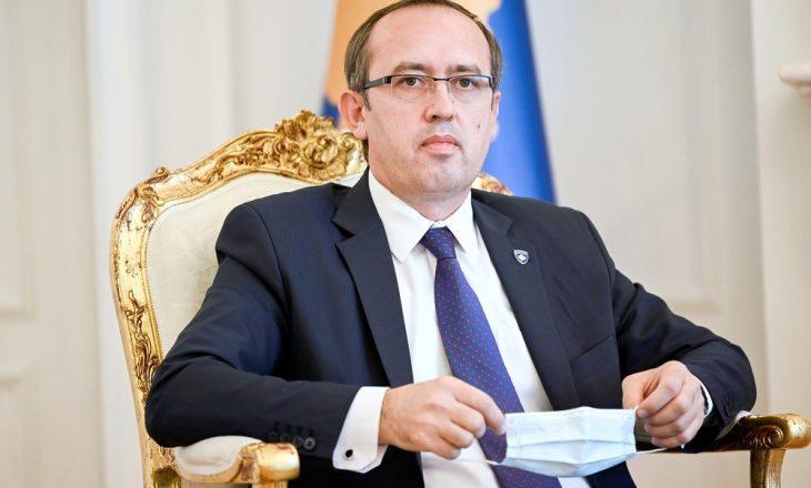 Hoti: Me Listën Serbe kemi disa dallime, po tentojmë t'i tejkalojmë