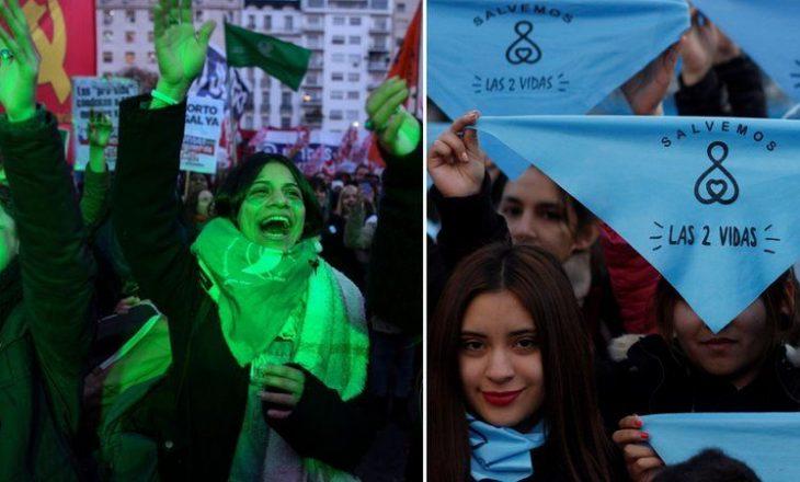 Dhoma e ulët e Argjentinës miraton projekt-ligjin historik për të legalizuar abortin