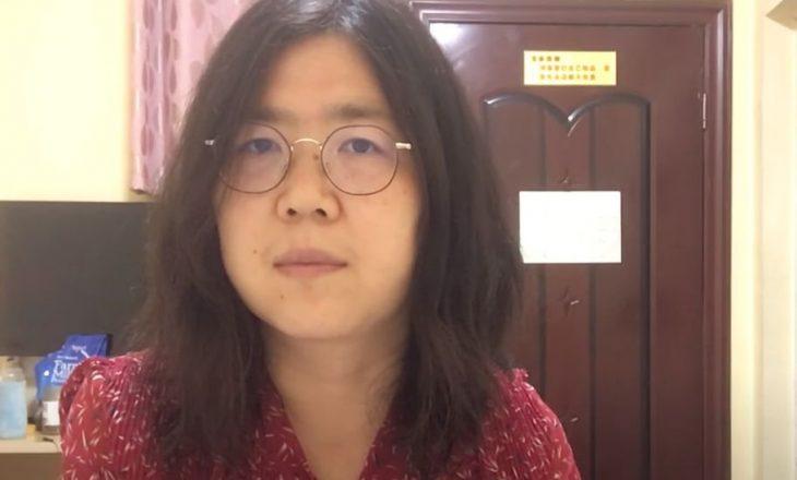 Gazetarja kineze që raportoi shpërthimin e Covid në Wuhan është dënuar me katër vite burg