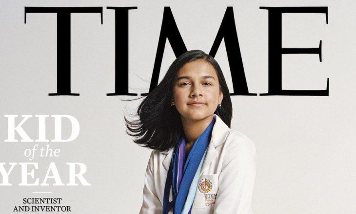 Gitanjali Rao zgjidhet Fëmija i vitit nga revista Time