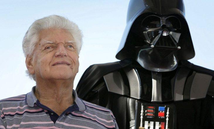 Mbahet varrimi i aktorit Dave Prowse, i cili luajti Darth Vader në trilogjinë origjinale të Star Wars.