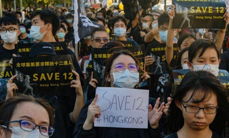 Shteti kinez burgos aktivistët që tentuan të iknin nga Hong Kong me anije