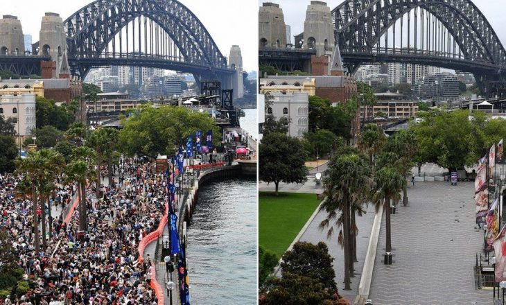 Covid: Pandemia zbut festimet e Vitit të Ri në të gjithë botën
