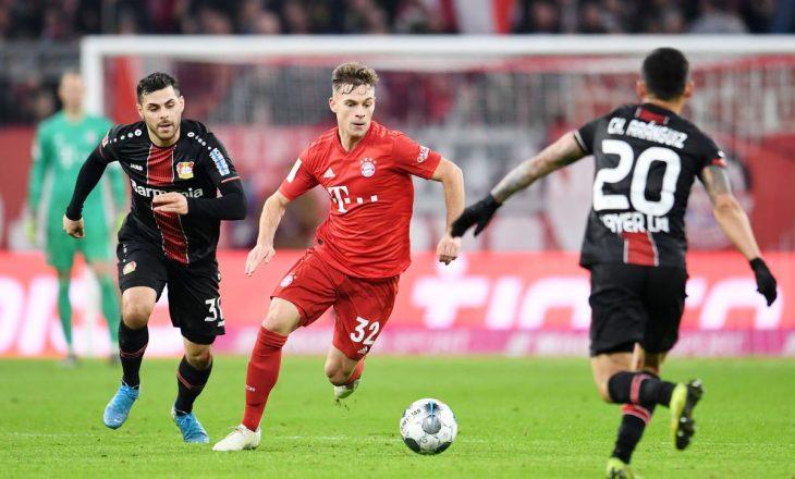 Bayern Munchen mposht Leverkusen-in, merr kryesimin në Bundesligë