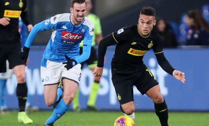 Inter vs Napoli – formacionet zyrtare