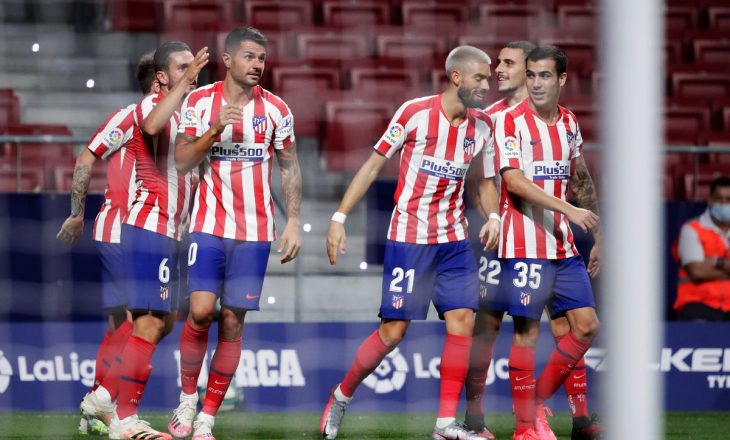 Atletico Madrid mposht Valladolid, ruan kryesimin