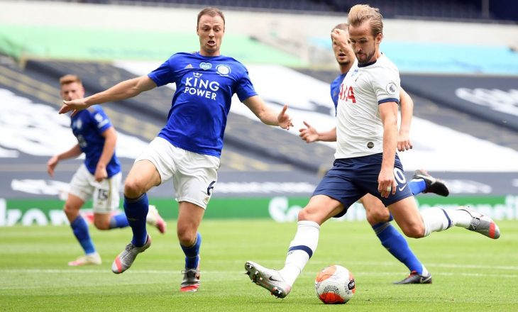 Leicester mposht Tottenham-in në Londër