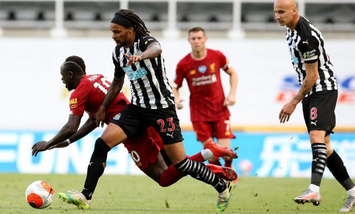 Liverpool përsëri 'ngec' në barazim, kësaj radhe me Newcastle United