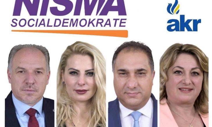 Katër deputetë të rinj i bashkohen Nismës Socialdemokrate