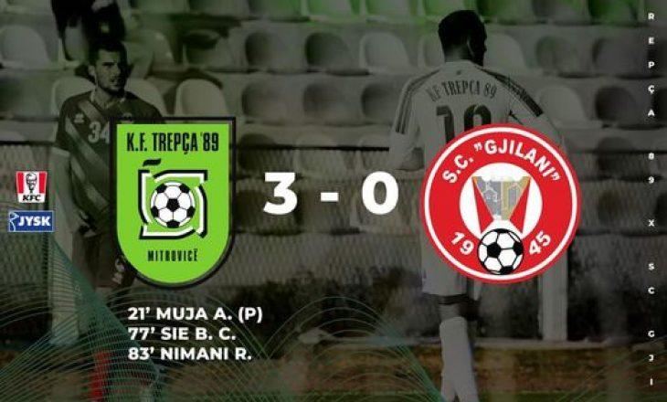Trepça '89 shënon fitore të pastër ndaj Gjilanit