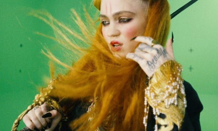 Grimes sjell versionin remix të Miss Anthropocene në ditën e Vitit të Ri