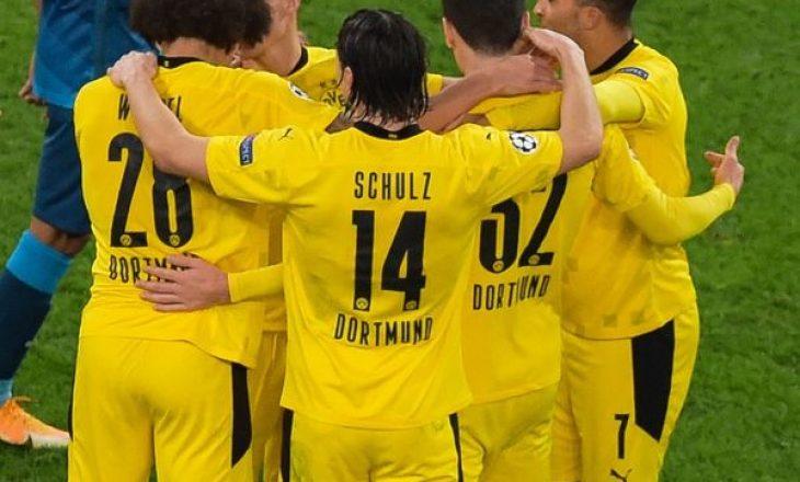 Liga e Kampionëve, Grupi F: Dortmund dhe Lazio kalojnë tutje