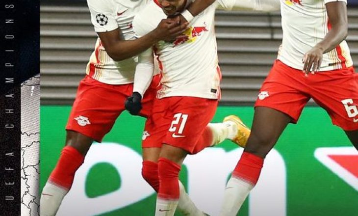Leipzig mposht Man. United, eliminon nga Liga e Kampionëve