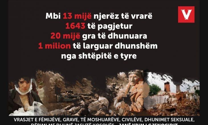 VV: Prioritet i Qeverisë sonë të re do të jetë padia për gjenocid kundër Serbisë