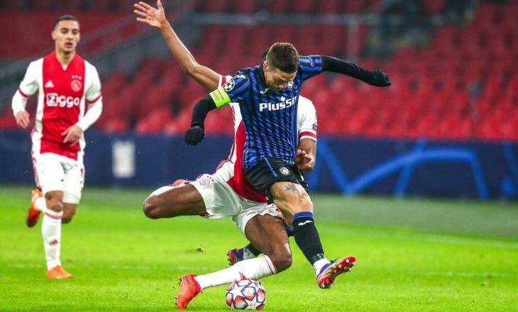 Liga e Kampionëve: Atalanta shënon fitore, Liverpool barazon