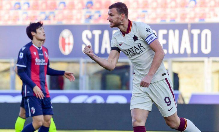 Serie A: Favoritët shënojnë fitore, Roma demolon Bologna-n