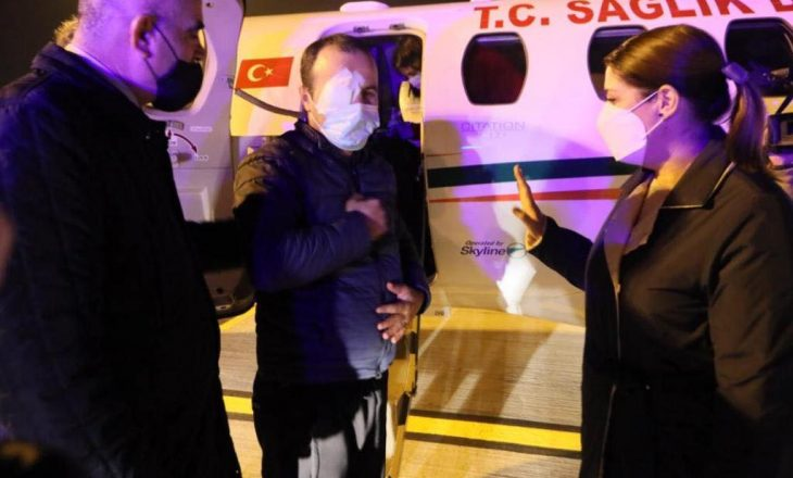 Niset për shërim në Turqi polici që lëndoi syrin gjatë protestës në Tiranë