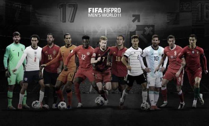 FIFA zgjedh formacionin e vitit 2020