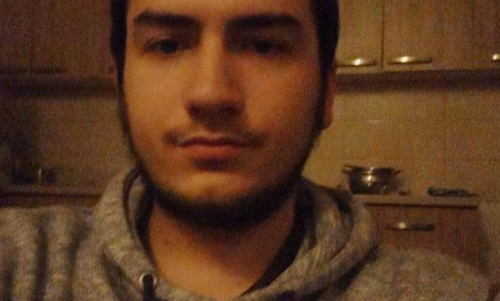 Zhduket një 21 vjeçar nga Prishtina – Kërkohet ndihmë për ta gjetur