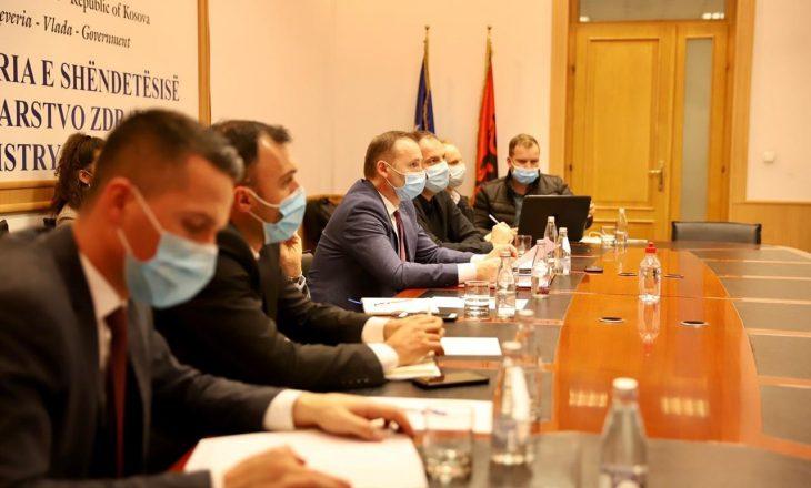 """Vazhdon implementimi i projektit """"Përkrahja e Sistemit Shëndetësor në Kosovë"""""""
