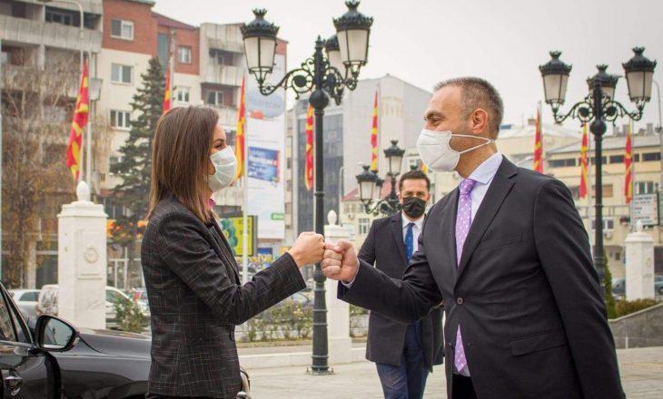 Balaj-Halimaj flet pas takimit në Shkup, tregon se për çka u dakorduan