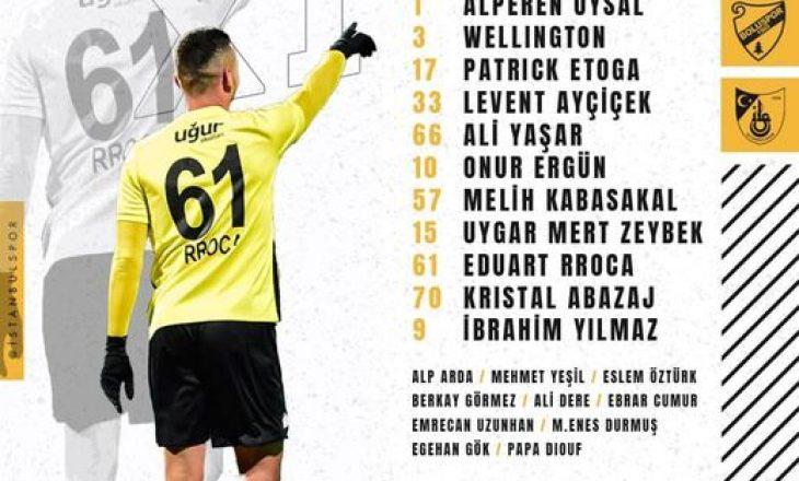 Eduart Rroca shënon për Istanbulspor në Turqi