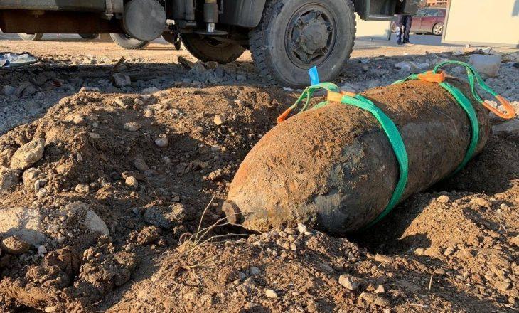 Gjendet një bombë me peshë 500 kilogramë në Shqipëri