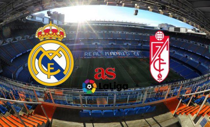 Real Madrid vs Granada – formacionet