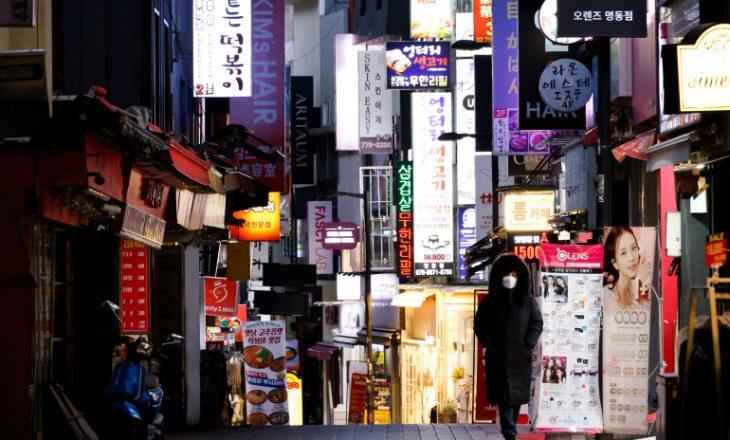 Koreja e Jugut regjistron rekord të personave të infektuar me COVID-19