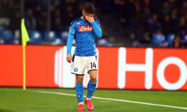 Mertens do të mungojë tri javë për Napolin