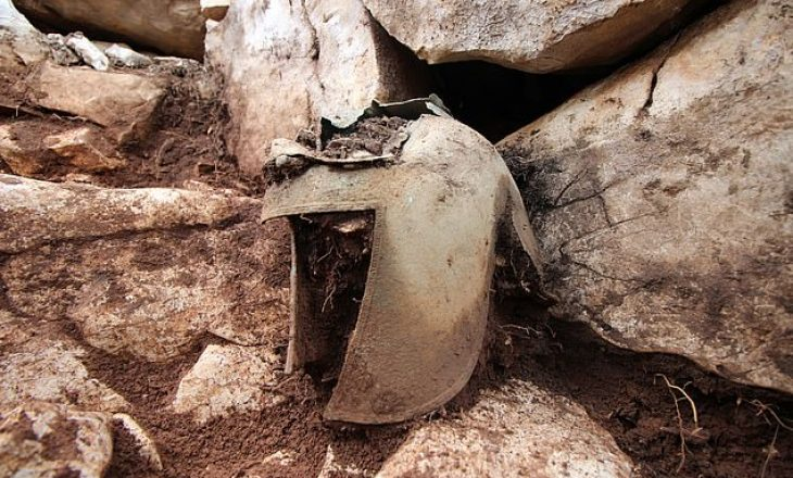 Një përkrenare e rrallë greko-ilire zbulohet në tokën kroate