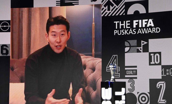 Goli i Heung-Min Son i shënuar ndaj Burnley-t fitoi çmimin 'Puskas'