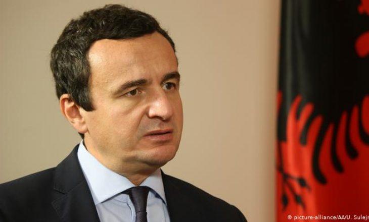 Kurti thirrje ndërkombëtarëve: Rriteni presionin ndaj qeverisë serbe, le të heqin dorë nga politikat agresore
