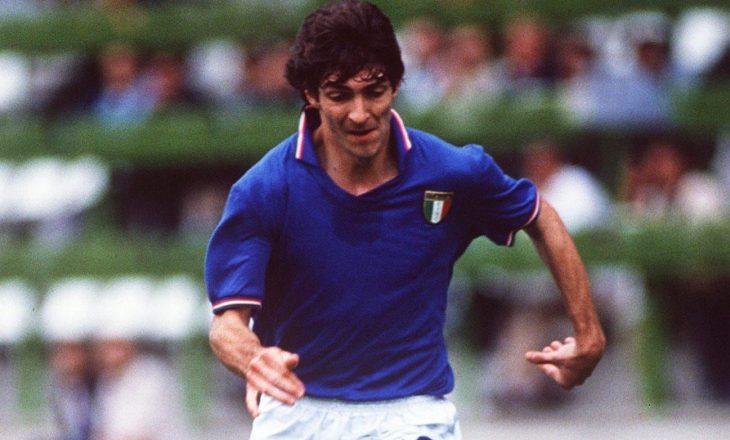 Paolo Rossi, kampion Botëror me Italinë në '82, ka ndërruar jetë