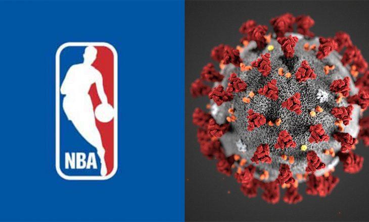 Dy lojtarë në NBA infektohen me COVID-19