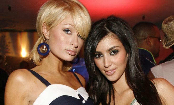 Kim Kardashian siguronte fotografitë e paparazive të Paris Hilton para se të bëhej e famshme