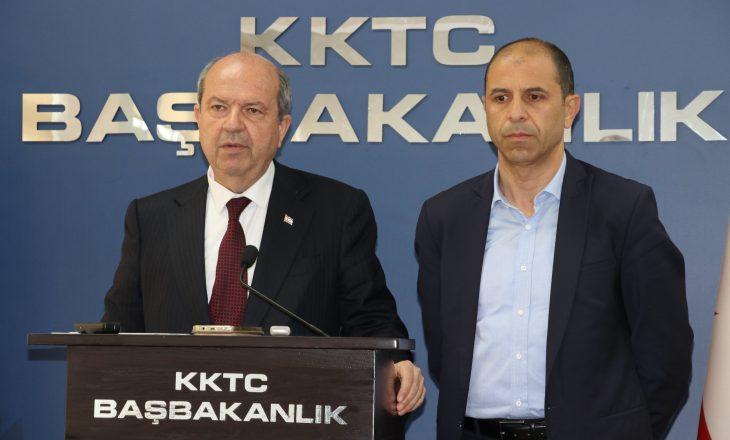 Formohet qeveria e re në Qipron Veriore