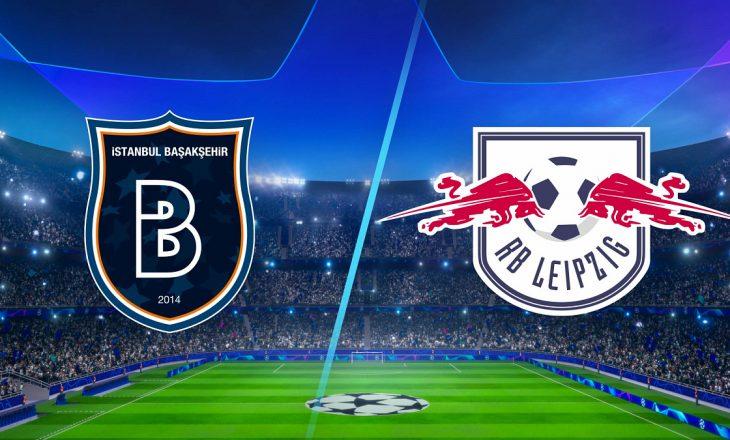 Liga e Kampionëve: Istanbul Basaksehir vs Leipzig, formacionet e ndeshjes