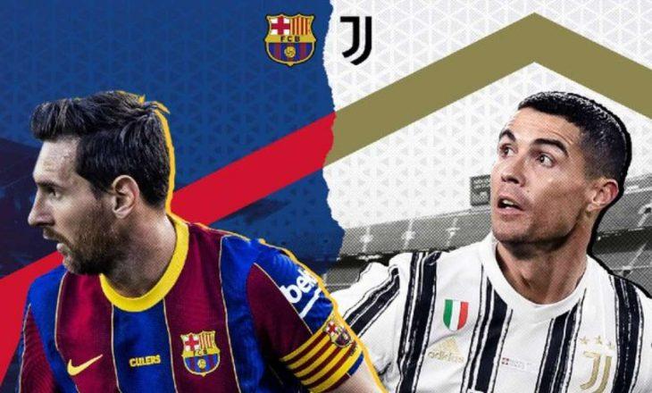 Derbi i të martës mbrëma në Ligën e Kampionëve: Barcelona vs Juventus – formacionet