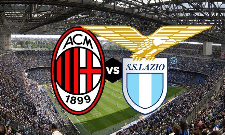 Milan vs Lazio – formacionet