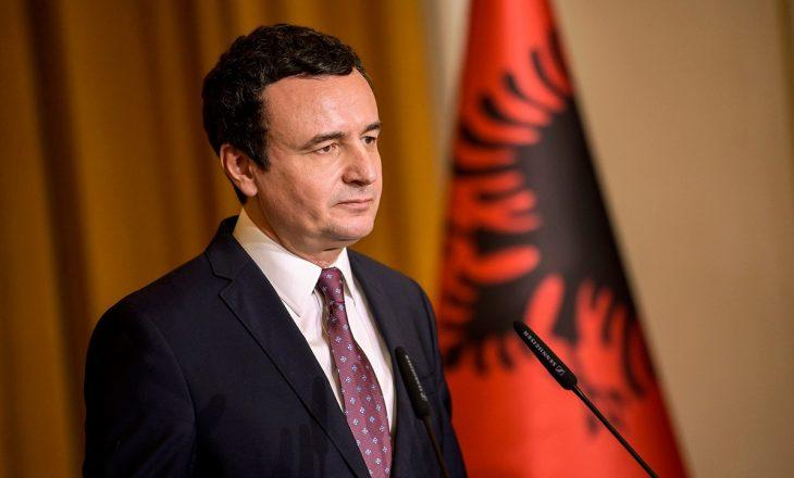 Zyrtare: Kurti kandidat i Vetëvendosjes për deputet