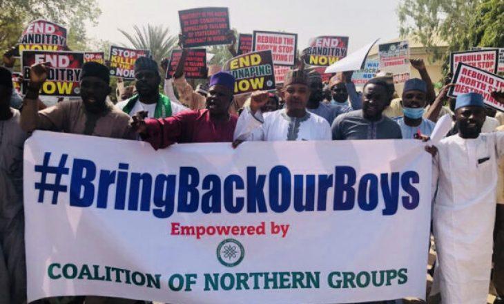 'Ktheni djemtë tanë': Nigerianët e Veriut protestojnë për rrëmbimet