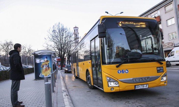 Zgjatet orari i qarkullimit me autobusët e Trafikut Urban