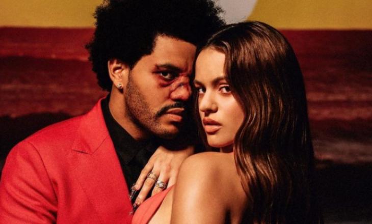 """""""Blinding Light"""" vjen në një version të ripërpunuar nga The Weeknd dhe Rosalia"""