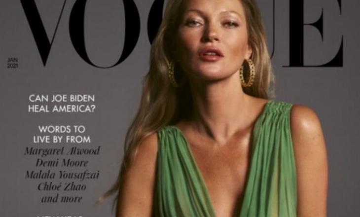 Kate Moss 'më e mirë se kurrë' rikthehet në kopertinën e Vogue, 28 vite pas herës së parë